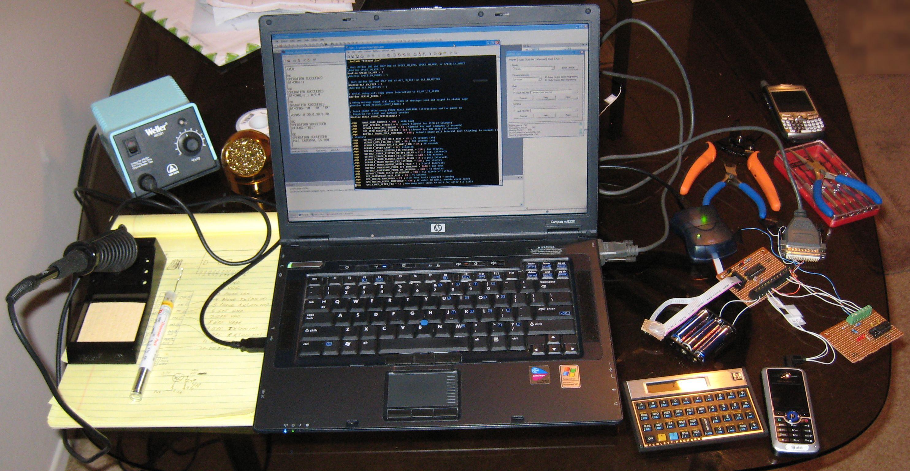 Open GPS Tracker: modification and development